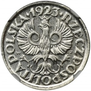 10 groszy 1923 - NGC MS64 - PIĘKNA
