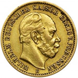 Germany, Kingdom of Prussia, Wilhelm I, 20 Mark Hannover 1873 B