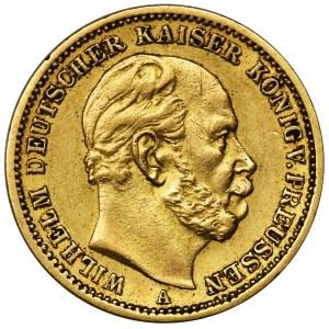 Niemcy, Królestwo Prus, Wilhelm I, 20 marek Berlin 1873 A