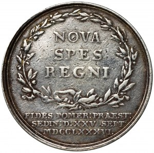 Brandenburgia-Prusy, Fryderyk Wilhelm II, Medal 1786