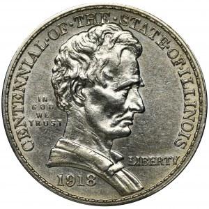 USA, 1/2 Dollar Philadelphia 1918