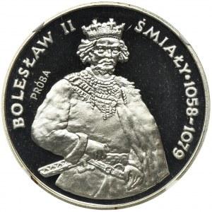 PRÓBA, 200 złotych 1981 Bolesław II Śmiały - NGC PF69 ULTRA CAMEO