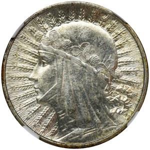 Głowa Kobiety, 2 złote 1934 - NGC MS62