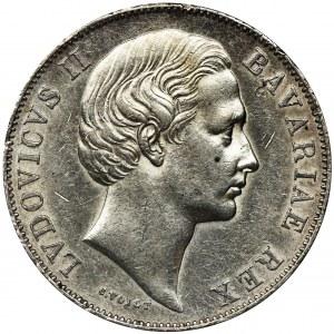 Germany, Bavaria, Ludwig II, Thaler no date Munich