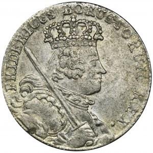 Niemcy, Królestwo Prus, Fryderyk II, Ort Wrocław 1755 B