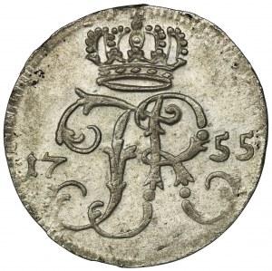 Germany, Kingdom of Prussia, Friedrich II, 1/24 Thaler Berlin 1755 A