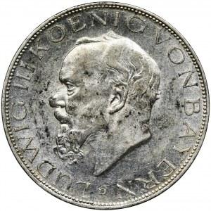 Niemcy, Bawaria, Ludwik III, 3 Marki Monachium 1914 D