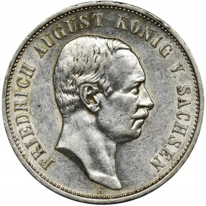 Niemcy, Saksonia, Fryderyk August III, 3 Marki Muldenhütten 1912 E