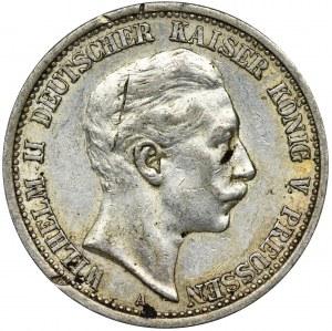 Niemcy, Królestwo Prus, Wilhelm II, 2 Marki Berlin 1911 A
