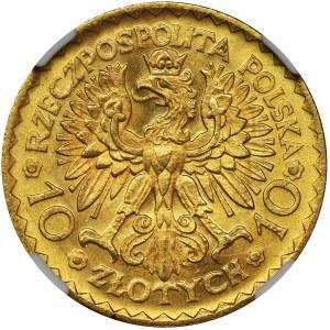 10 zloty 1925 Chrobry - NGC MS??
