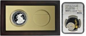 20 złotych 2014 i Turcja, 50 lirów 2014, 600 lat stosunków z Turcją - NGC PF70 ULTRA CAMEO + pudełko