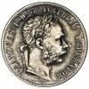 Austria, Franciszek Józef I, 1 Floren Wiedeń 1878 (2 szt.) - komplet spinek