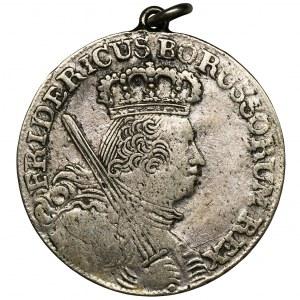 Niemcy, Królestwo Prus, Fryderyk II, Ort Berlin 1758 A - zawieszka