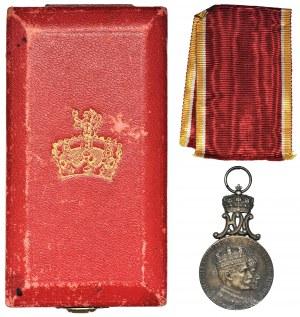 Norwegia, Haakon VII i królowa Maud, Medal koronacyjny 1906
