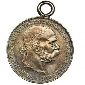 Austria, Franciszek Józef I, 5 Koron Wiedeń 1900 - zawieszka
