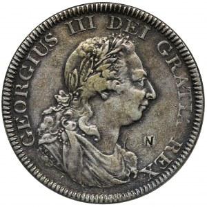 Anglia, Jerzy III, Dolar = 5 szylingów 1804 - zapinka