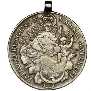 Węgry, Józef II, Talar Kremnica 1783 B - zawieszka