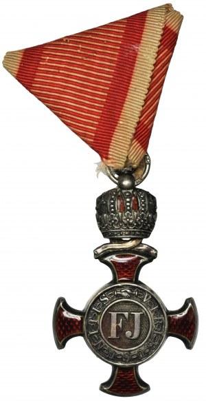 Austria, Silver Merit Cross 4th class 1849