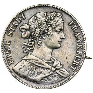 Niemcy, Miasto Frankfurt, Talar Frankfurt 1860 - zapinka