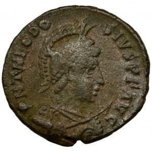 Cesarstwo Rzymskie, Teodozjusz II, Follis - RZADKI
