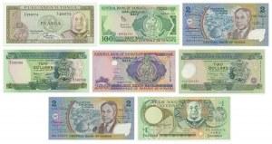 Oceania, mix lot banknotes (8 pcs.)