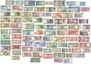 Afryka, duży zestaw banknotów (85szt.)