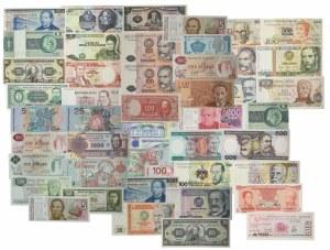 South America, set of mixed banknotes (47 pcs.)