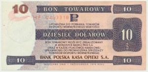 Pewex, 10 dolarów 1979 - HF -