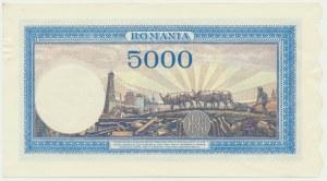 Romania, 5.000 lei 1943