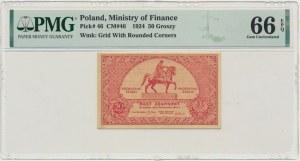 50 groszy 1924 - PMG 66 EPQ