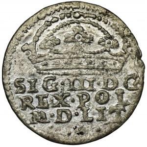 Zygmunt III Waza, Grosz Kraków 1608 - bez ozdobników