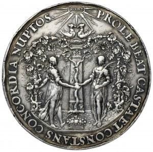 Władysław IVWaza, Medal zaślubinowy autorstwa Jana Höhna