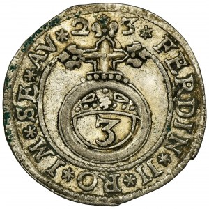 Niemcy, Hrabstwo Öttingen, Ludwik Eberhard, Grosz 1623 - RZADKI