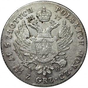 Królestwo Polskie, 5 złotych polskich Warszawa 1817 IB