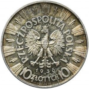 Piłsudski, 10 złotych 1936