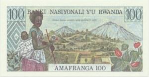 Rwanda, 100 franków 1978