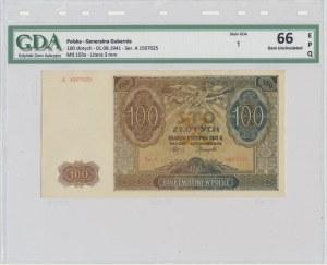 100 złotych 1941 - A - GDA 66 EPQ