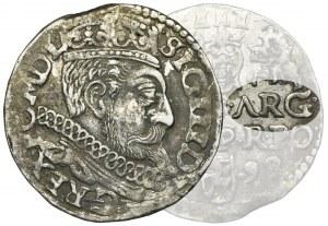 Sigismund III Vasa, 3 Groschen Posen 1599 - ΛRG