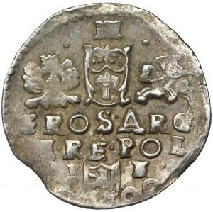Zygmunt III Waza, Trojak Lublin 1600 - RZADKI, NIENOTOWANY