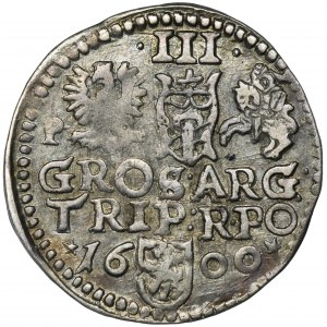 Zygmunt III Waza, Trojak Poznań 1600
