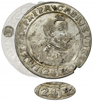 Silesia, Gabriel Bethlen, 24 Kreuzer Oppeln 1623 - RARE, UNLISTED