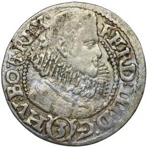 Śląsk, Księstwo Kłodzkie, Ferdynand III, 3 Krajcary Kłodzko 1632 HR