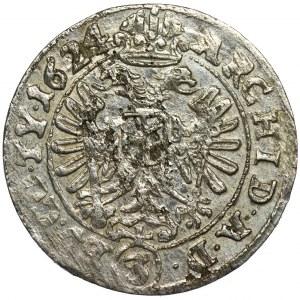 Śląsk, Panowanie habsburskie, Ferdynand II, 3 Krajcary Wrocław 1624 BZ - RZADKIE, NIENOTOWANE