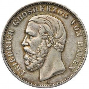 Niemcy, Badenia, Fryderyk I, 5 Marek Karlsruhe 1900 G