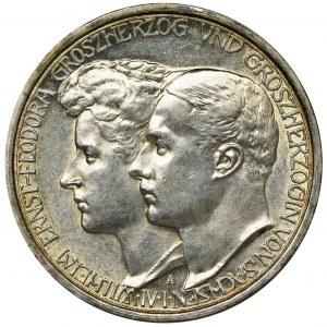 Niemcy, Saksonia-Weimar-Eisenach, Wilhelm Ernest, 3 Marki Berlin 1910 A