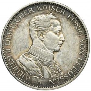 Niemcy, Królestwo Prus, Wilhelm II, 3 Marki Berlin 1914