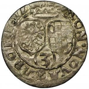 Śląsk, Księstwo Legnicko-Brzesko-Wołowskie, Jerzy Rudolf Legnicki, 3 Krajcary Legnica 1622