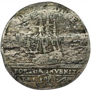 August II Mocny, Grosz Drezno 1717 - RZADKI