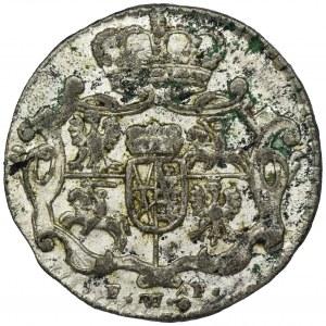 August III Sas, 1/48 Talara (półgrosz) Drezno 1756 FWôF