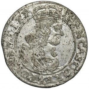 Jan II Kazimierz, Szóstak Bydgoszcz 1662 AT - dwie obwódki